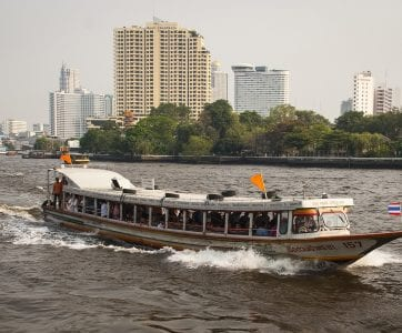 Experience a Chao Phraya River cruise by day