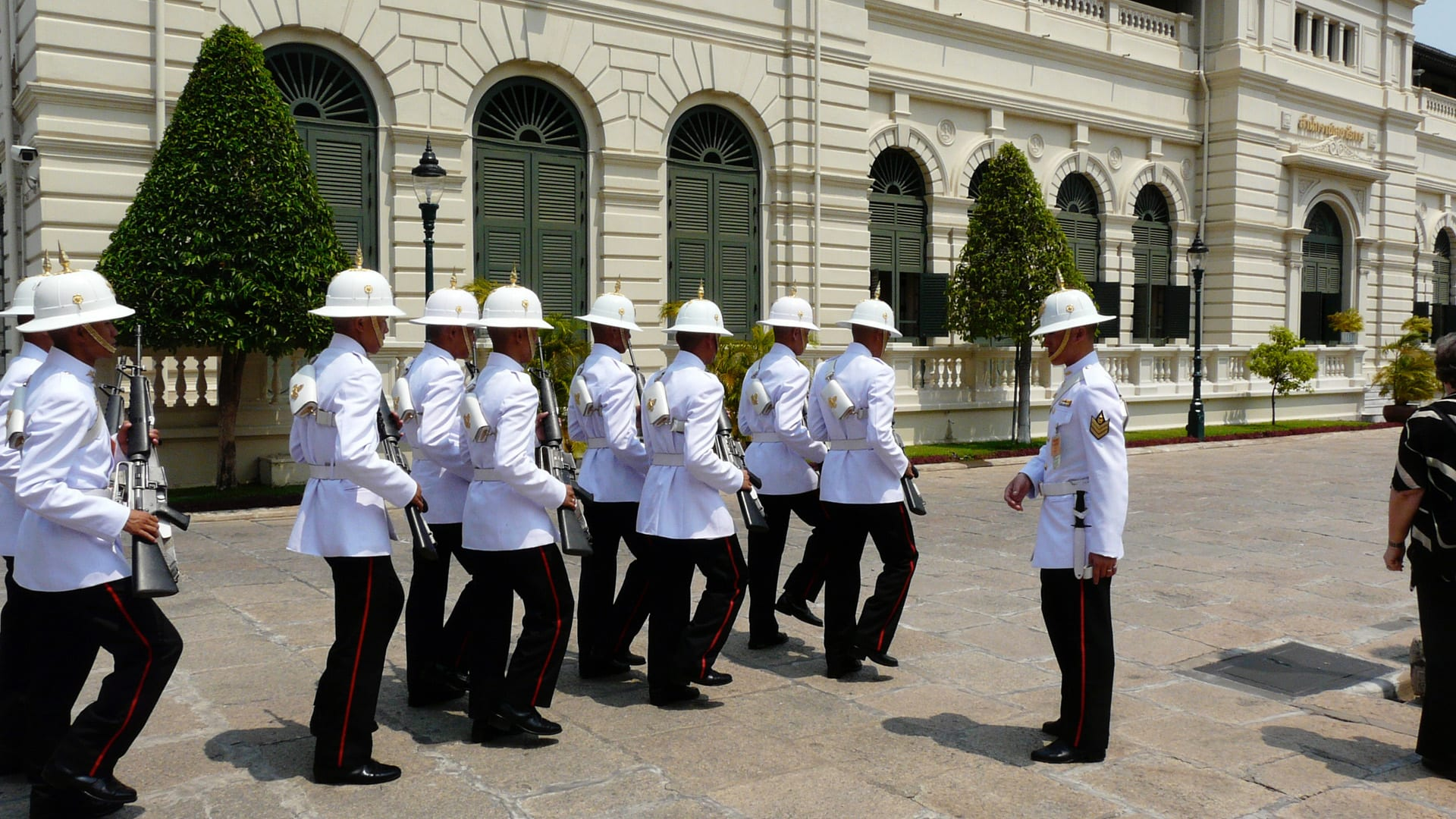 Guards in The Grand Palace