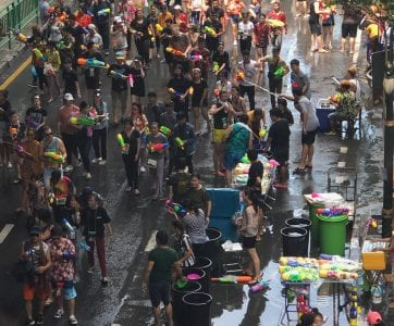 Songkran Festival: Celebrating the Thai New Year